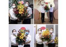 Bộ trưởng Huỳnh Thành Đạt thăm, chúc mừng các cơ quan báo chí, truyền thông thuộc Bộ Khoa học và Công nghệ