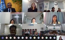 Cuộc họp trực tuyến về các dự án hợp tác kỹ thuật giữa Việt Nam và IAEA