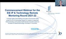 Hội thảo trực tuyến Khởi động Chương trình Cố vấn từ xa hỗ trợ thương mại hóa Công nghệ và Tài sản trí tuệ - Vòng 2021-2022 trong khuôn khổ dự án Môi trường Sở hữu trí tuệ kiến tạo