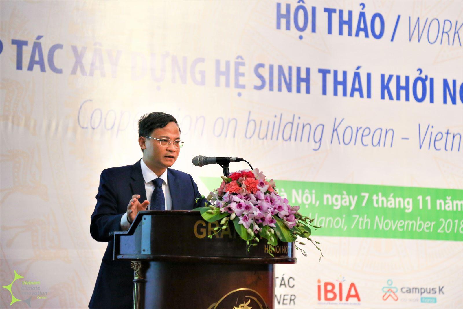 Ông Phạm Đức Nghiệm đánh giá, hệ sinh thái khởi nghiệp sáng tạo của Việt Nam đã cơ bản hình thành