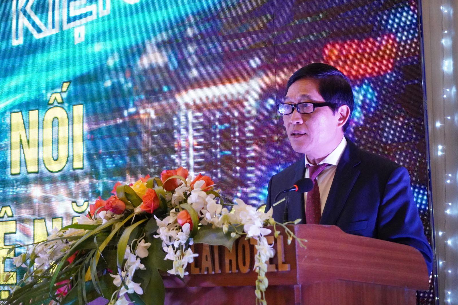 Thứ trưởng Bộ KH&CN Trần Văn Tùng phát biểu bế mạc Techdemo 2019.