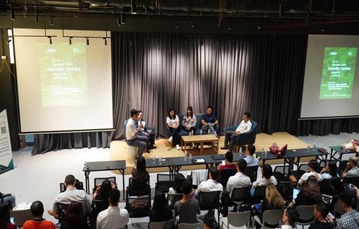 Sự kiện kết nối – gia tăng sự thấu hiểu dành cho hơn 200 sáng lập viên, nhà quản lý doanh nghiệp khởi nghiệp ĐMST và các đại diện từ các cơ quan truyền thông, báo chí.