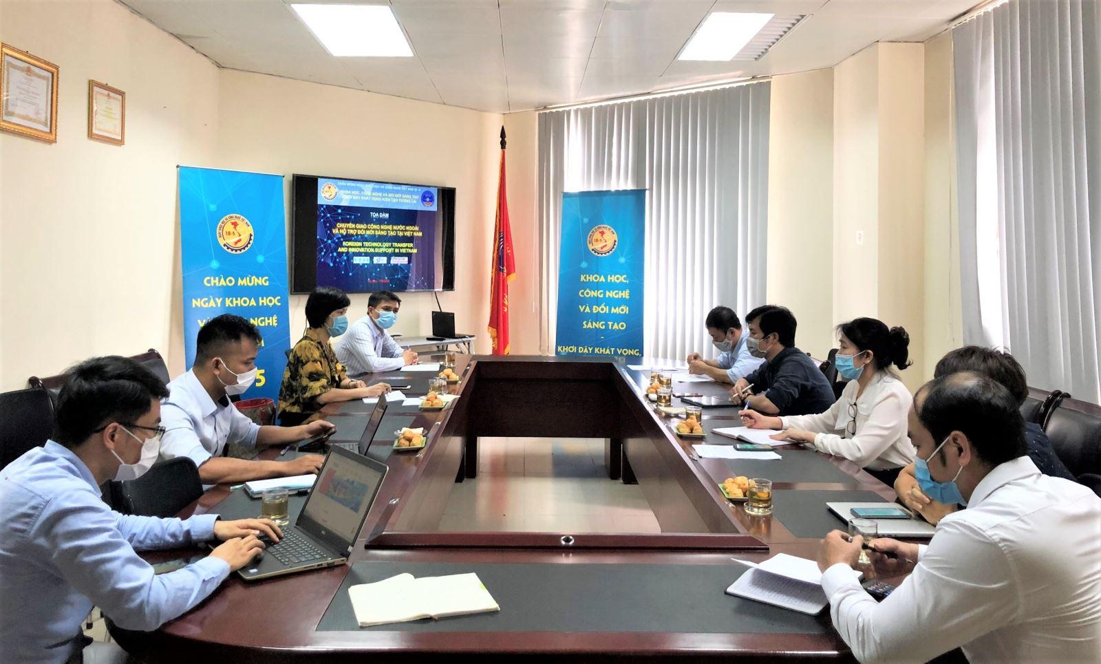 Tọa đàm Chuyển giao công nghệ nước ngoài và hỗ trợ đổi mới sáng tạo tại Việt Nam